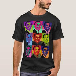 Multi de Barack Obama coloreada Camiseta