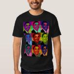 Multi de Barack Obama coloreada Camisetas