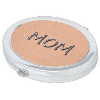 Multi-Estilos del Mamá-Suave-Melocotón-Madre-Día Espejo Maquillaje
