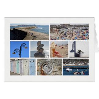 Multi-imagen de Lyme Regis Tarjeta De Felicitación