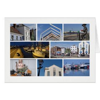Multi-imagen de Poole Tarjeta De Felicitación