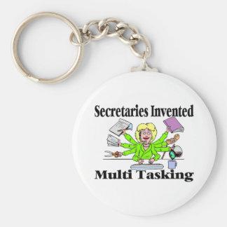 Multi Tasking de secretarias Invented Llaveros Personalizados