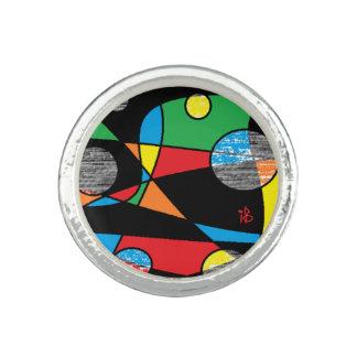 multicolor anillo