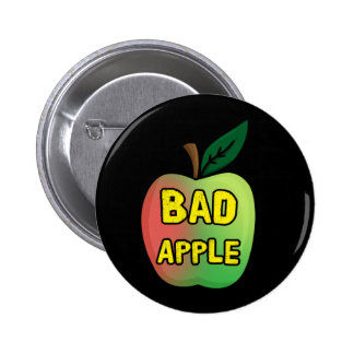 Mún Apple Chapa Redonda De 5 Cm