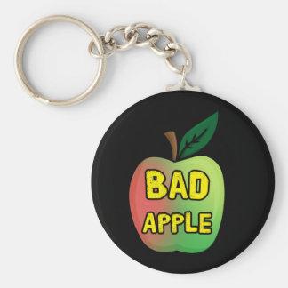 Mún Apple Llavero Redondo Tipo Chapa