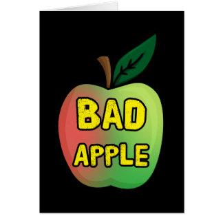 Mún Apple Tarjeta Pequeña
