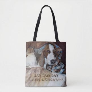 Mún bolso de la preparación del perro del día del
