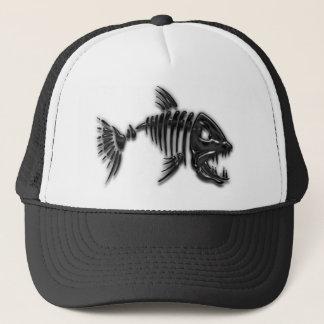 Mún gorra de los pescados de la actitud