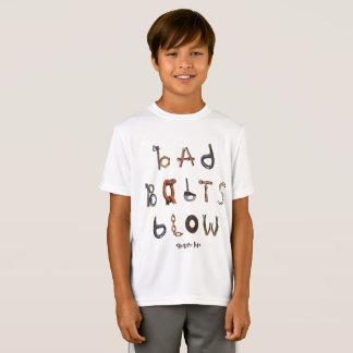 Mún soplo de los pernos - la camisa atlética del