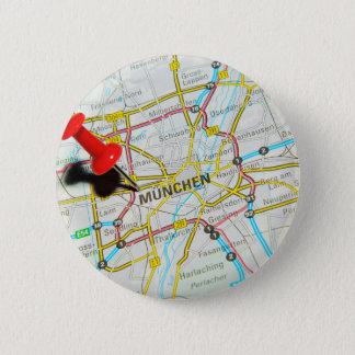 Munchen (Munich), Alemania Chapa Redonda De 5 Cm