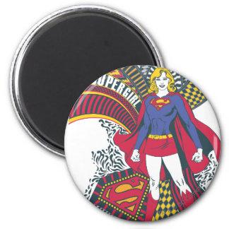 Mundo al azar 1 de Supergirl Imán Redondo 5 Cm