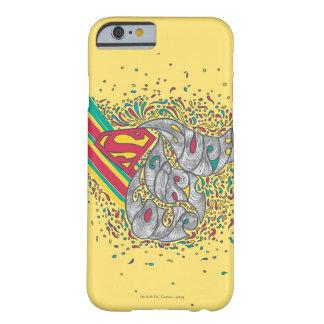 Mundo al azar 2 de Supergirl Funda De iPhone 6 Barely There