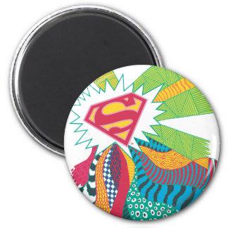 Mundo al azar 3 de Supergirl Imán Redondo 5 Cm