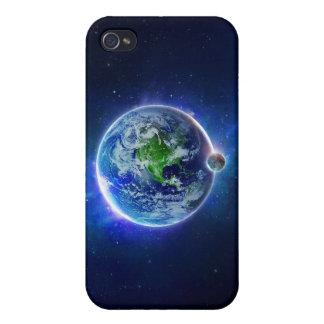 Mundo azul iPhone 4 coberturas