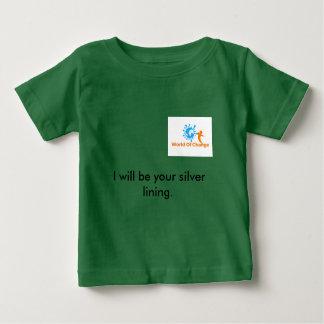 """Mundo de la camiseta """"lado positivo """" del cambio"""