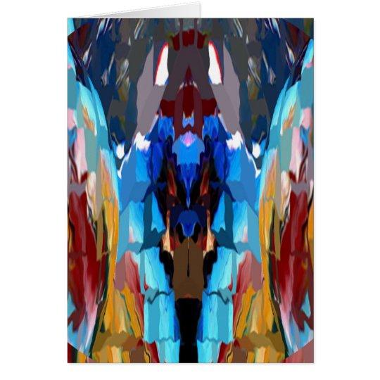 Mundo de los espíritus - inspiración y magia V11 Tarjeta De Felicitación