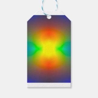 Mundo del arco iris etiquetas para regalos