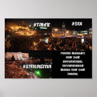 Mundo en protesta posters