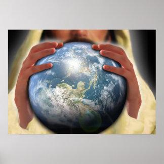 Mundo entero en sus manos impresiones