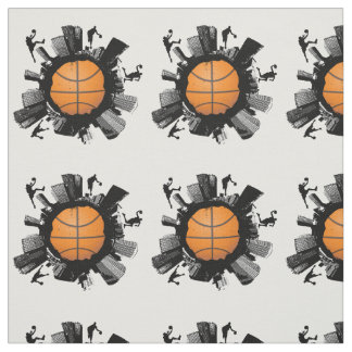 Mundo fresco del baloncesto tela