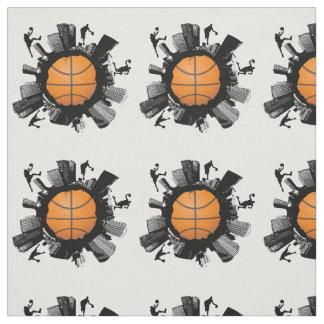 Mundo fresco del baloncesto telas