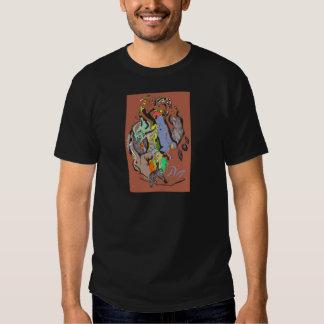 Mundo impersonal camisetas