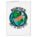 Mundo Notecard de las enfermeras
