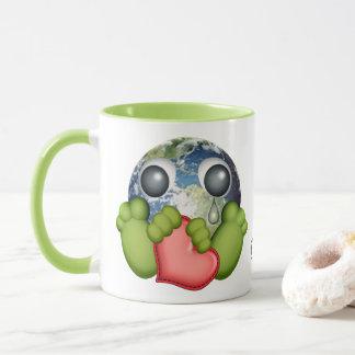 Mundo triste taza