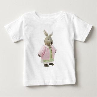 Muñeca del conejito camiseta de bebé
