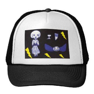 Muñeca del gótico gorras