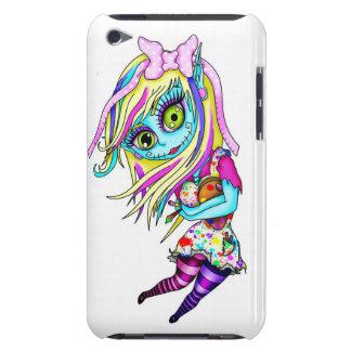 Muñeca linda del zombi iPod touch Case-Mate fundas