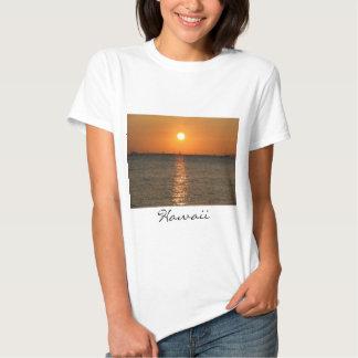 Muñeca T de la puesta del sol de Waikiki Camisas