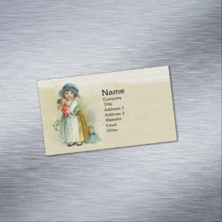 Muñecas rechonchas del gorra de las mejillas de la tarjetas de visita magnéticas (paquete de 25)