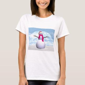 Muñeco de nieve - 3D rinden Camiseta