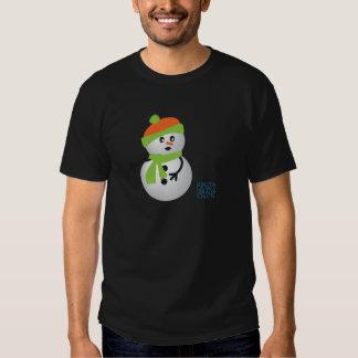 Muñeco de nieve del bebé camisas