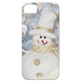 Muñeco de nieve frío del invierno funda para iPhone SE/5/5s
