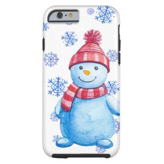 Muñeco de nieve funda resistente iPhone 6