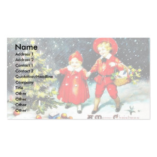 Muñeco de nieve que se coloca con las hojas y los  tarjeta personal