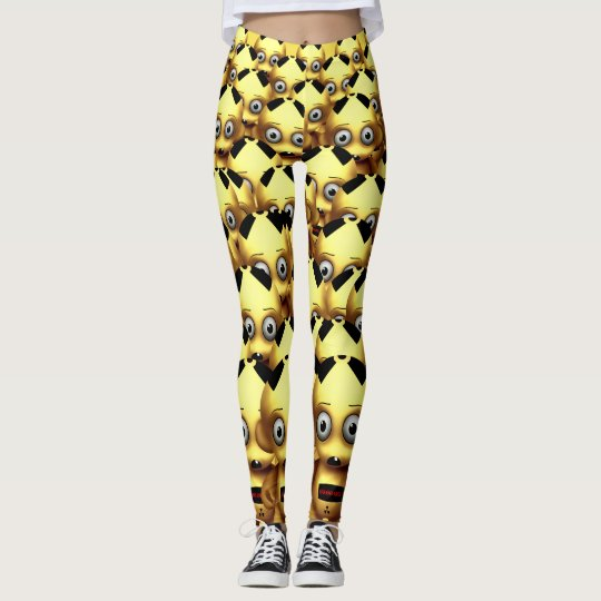 Munny radiactivo - polainas leggings