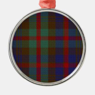 Murray del ornamento superior del círculo del adorno navideño redondo de metal