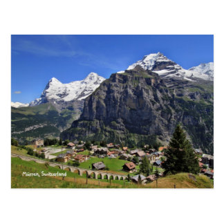 Mürren, Suiza - Schweiz Postal