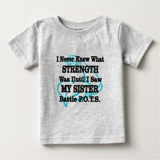 Muscle/I nunca conocía… a la hermana Camiseta De Bebé