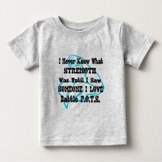 Muscle/I nunca sabía… alguien amor de I Camiseta De Bebé