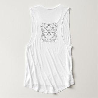 Músculo-Camiseta de la libélula Camiseta De Tirantes Anchos