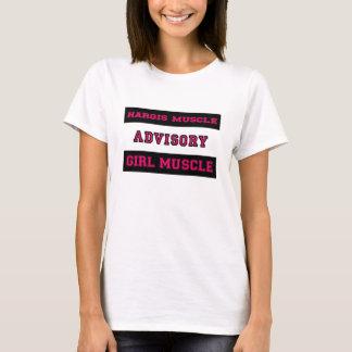 Músculo del chica del músculo de Hargis Camiseta