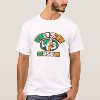 Músculo irlandés camiseta