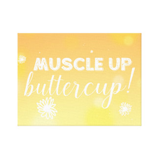 ¡Músculo para arriba! Lienzo