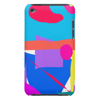 Músculo pulido inteligencia del azul del arroz de  iPod Case-Mate protectores