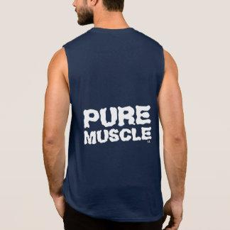 Músculo puro camisetas sin mangas