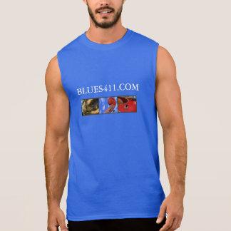 Músculo T w/slogan Camiseta Sin Mangas
